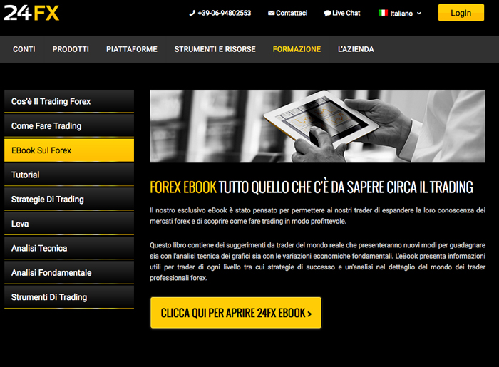 Il trading online legale